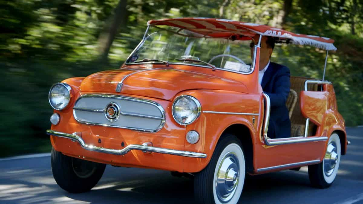 1957 Fiat 500 Jerry Seinfeld