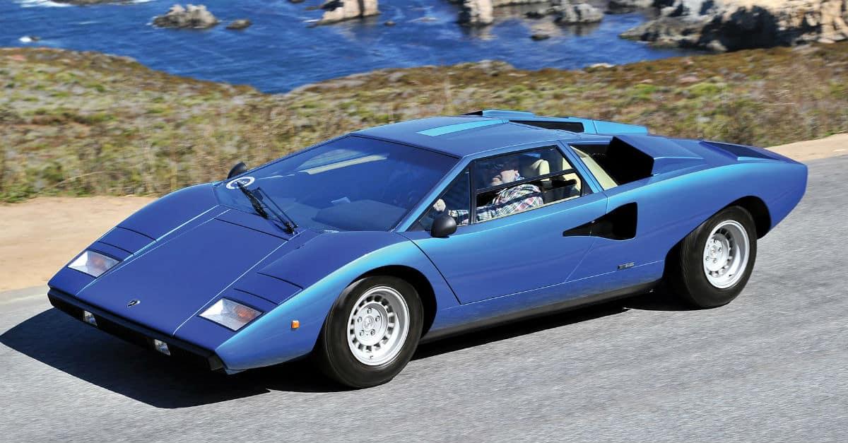 1976 Lamborghini Countach Jerry Seinfeld