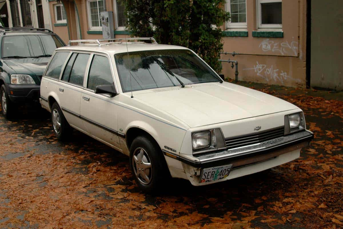 1983 Chevrolet Cavalier(Old Prked Cars)