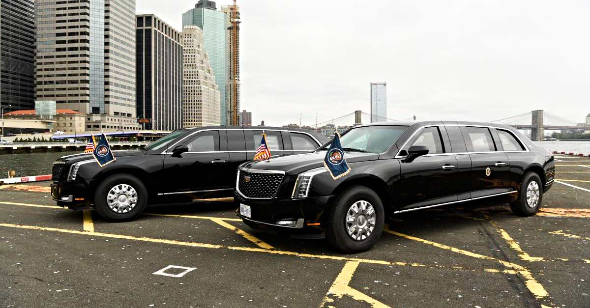 Two new Presidential State state cars