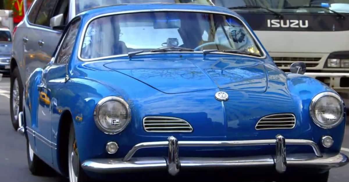 Volkswagen Karmann Ghia Jerry Seinfeld