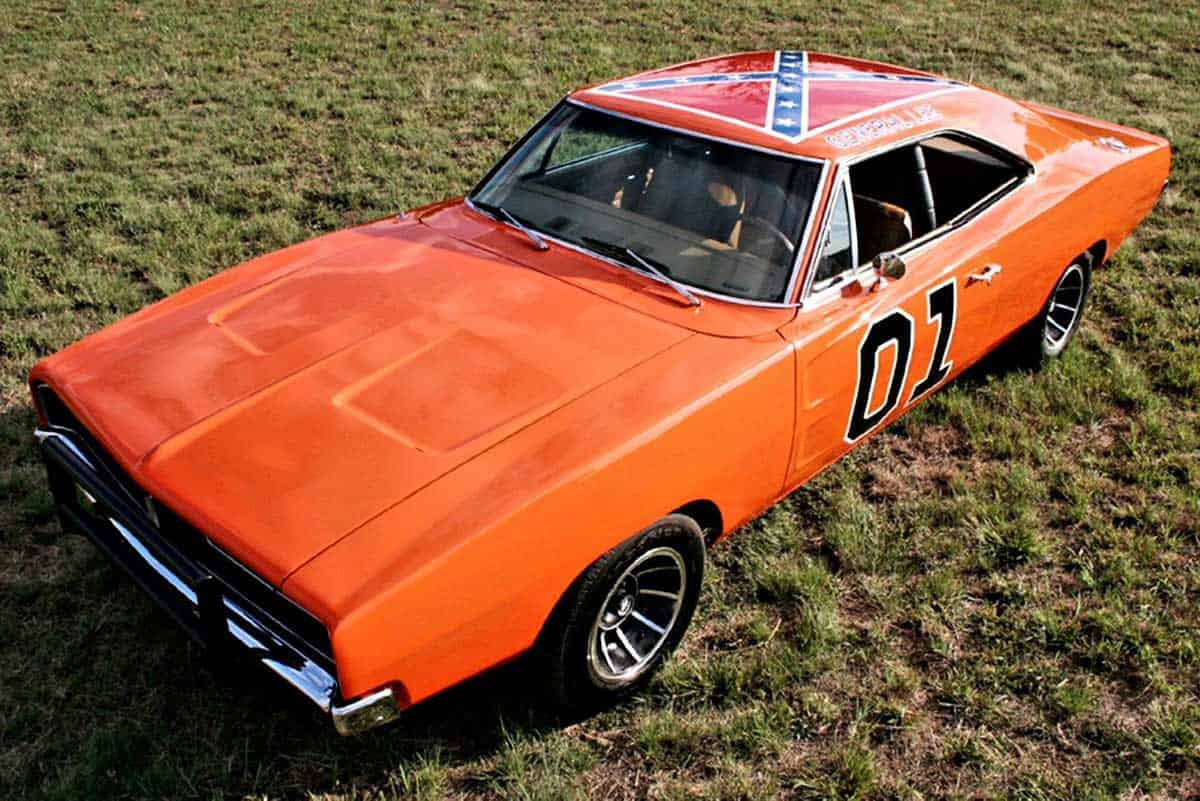 1969 DODGE CHARGER COUPE DUKES OF HAZZARD