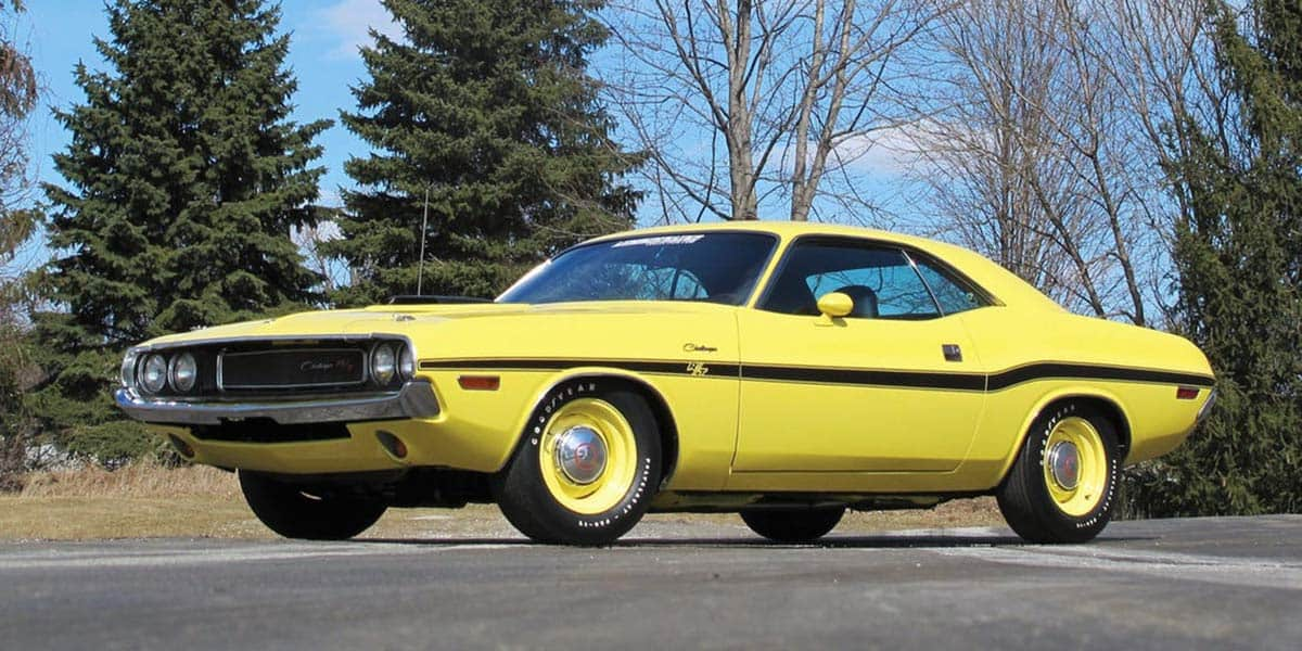 1970 DODGE CHALLENGER THE BUCKET LIST