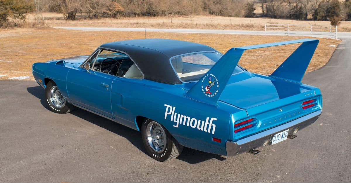1970 Plymouth Superbird John Cena