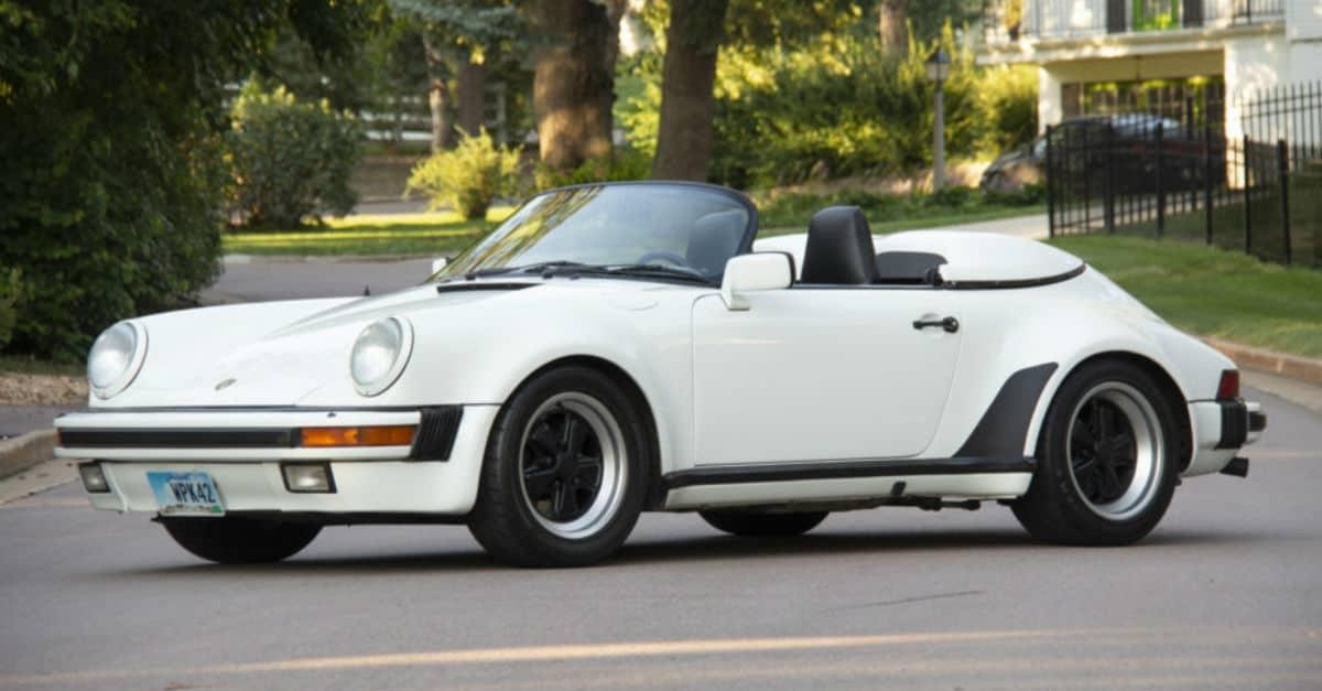 1989 Porsche 911 Speedster Jerry Seinfeld