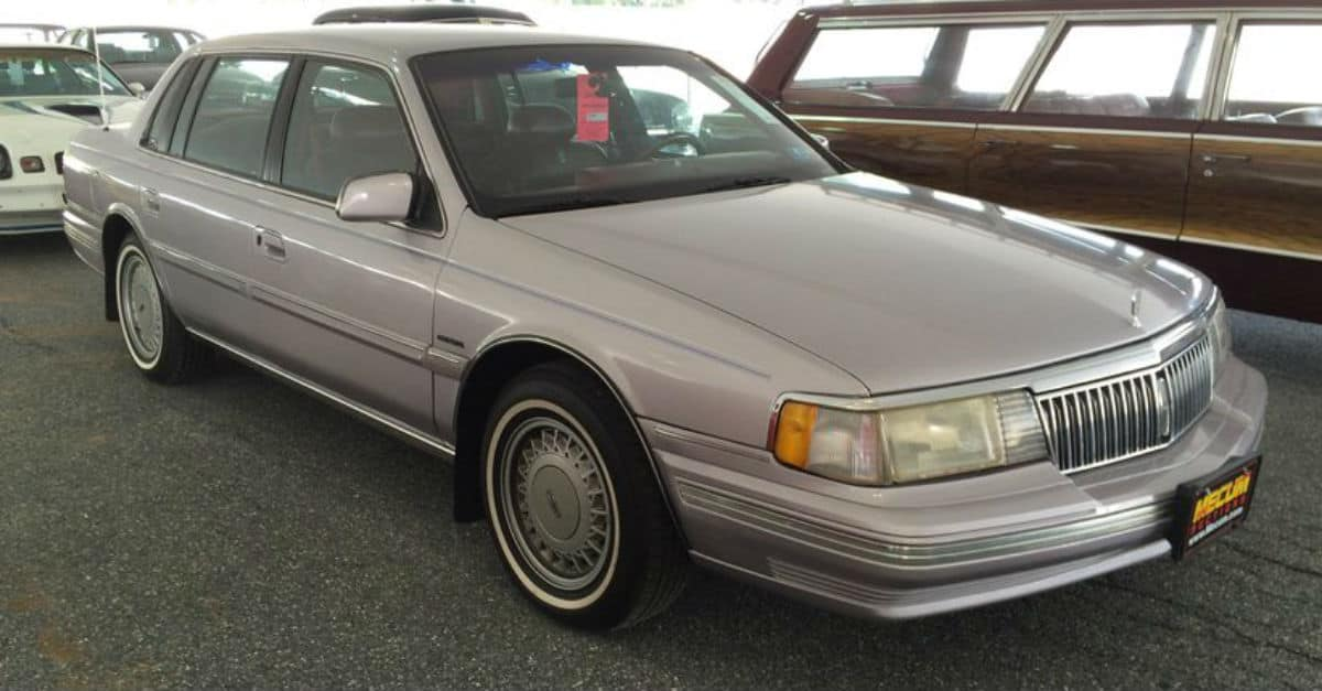 1991 Lincoln Continental John Cena
