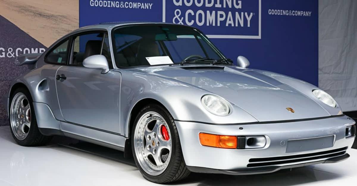 1994 Porsche 964 Turbo 36 Jerry Seinfeld