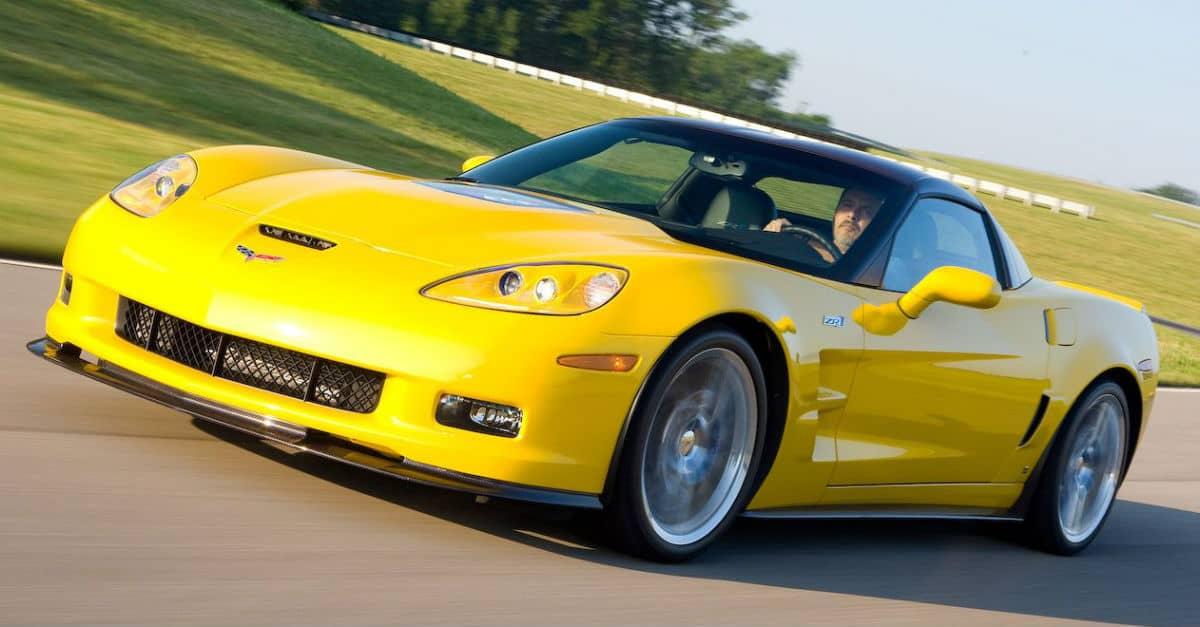 2009 Chevrolet Corvette ZR1 John Cena