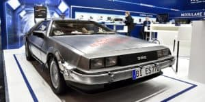 BACK TO THE FUTURE DELOREAN DMC-12