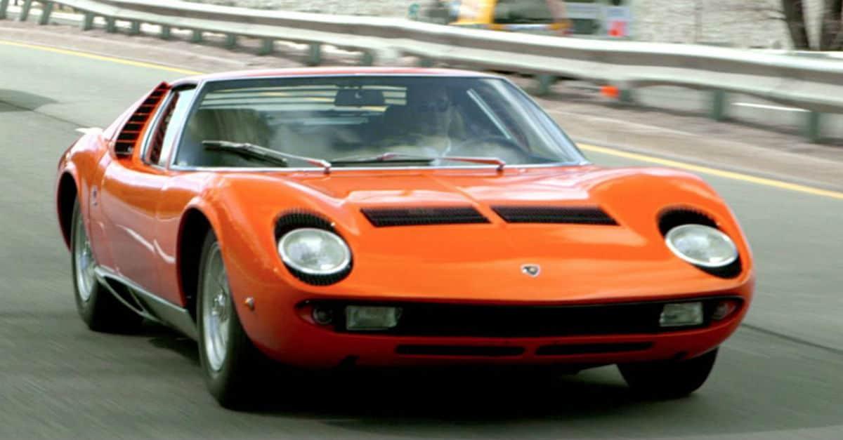 Lamborghini Miura Jerry Seinfeld