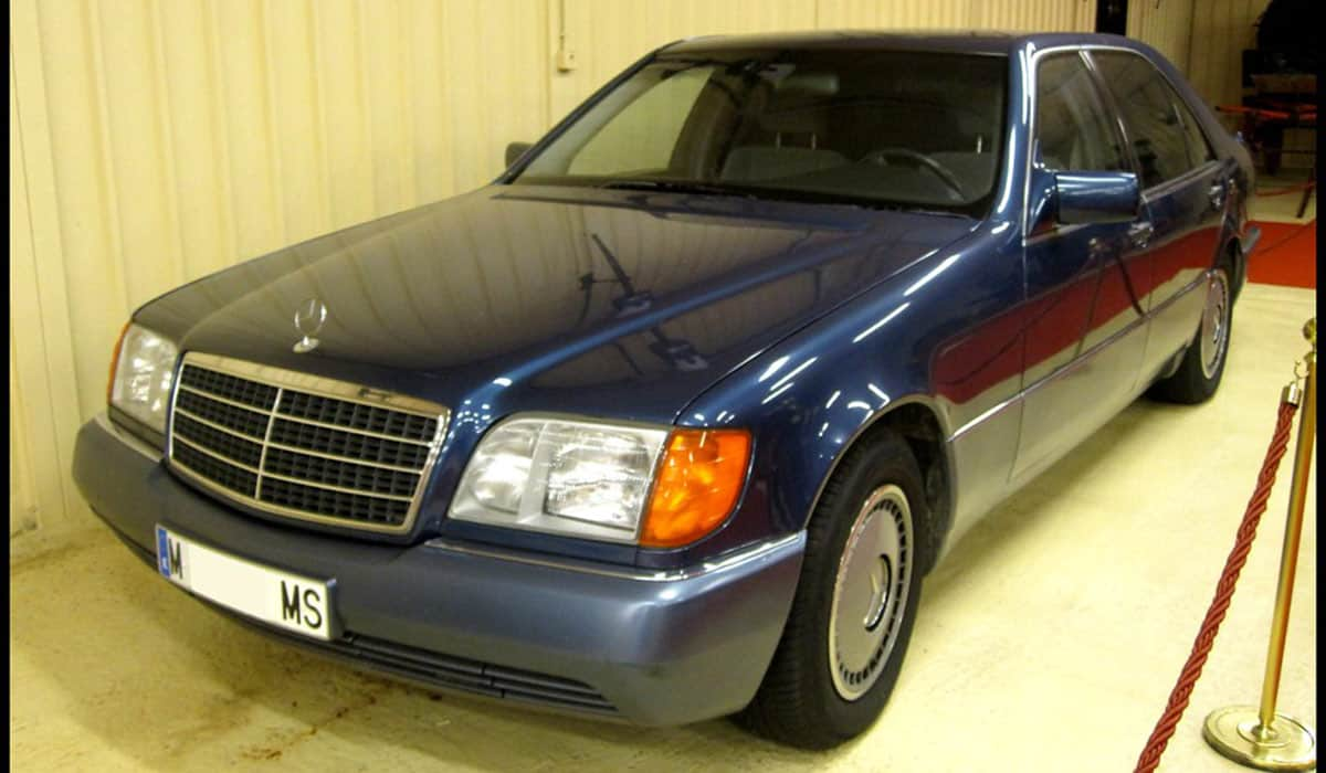MERCEDES W140-CHASSIS S-CLASS