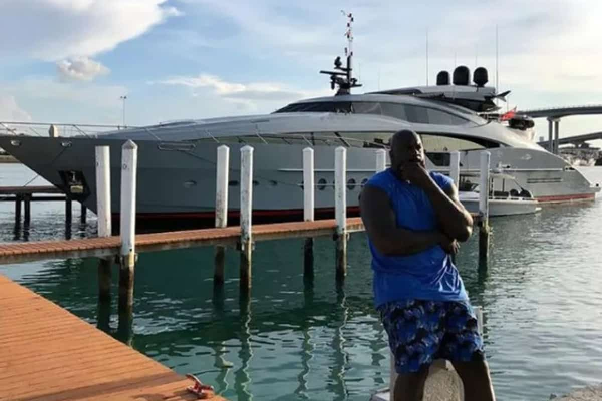 Shaq Yacht