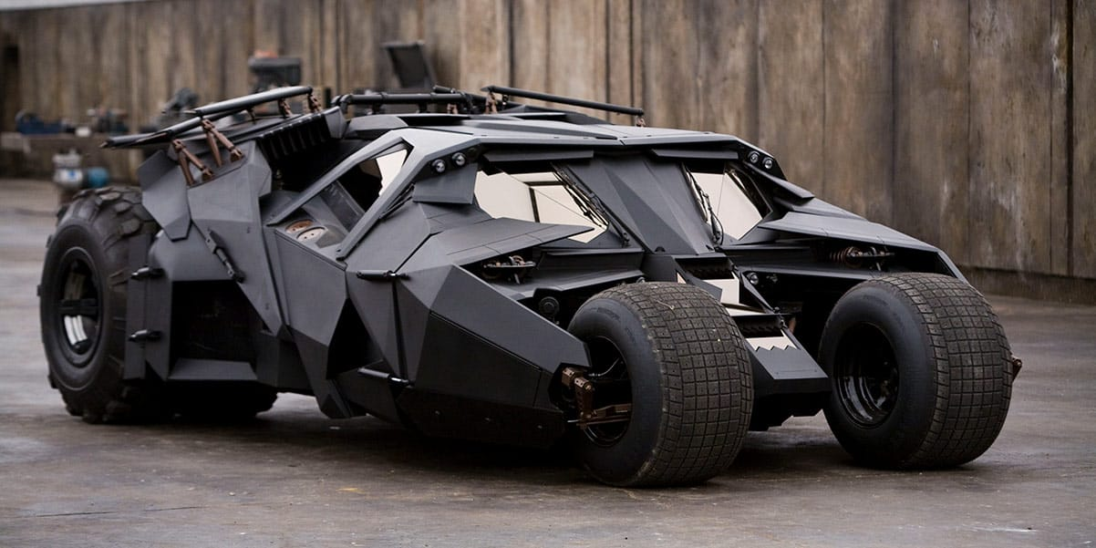 THE DARK KNIGHT'S TUMBLER