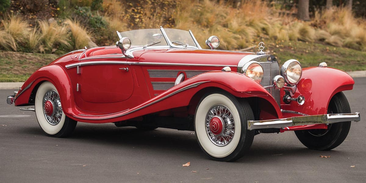 1936 Mercedes-Benz 540K Special Roadster(Darin Schnabel), car at auction