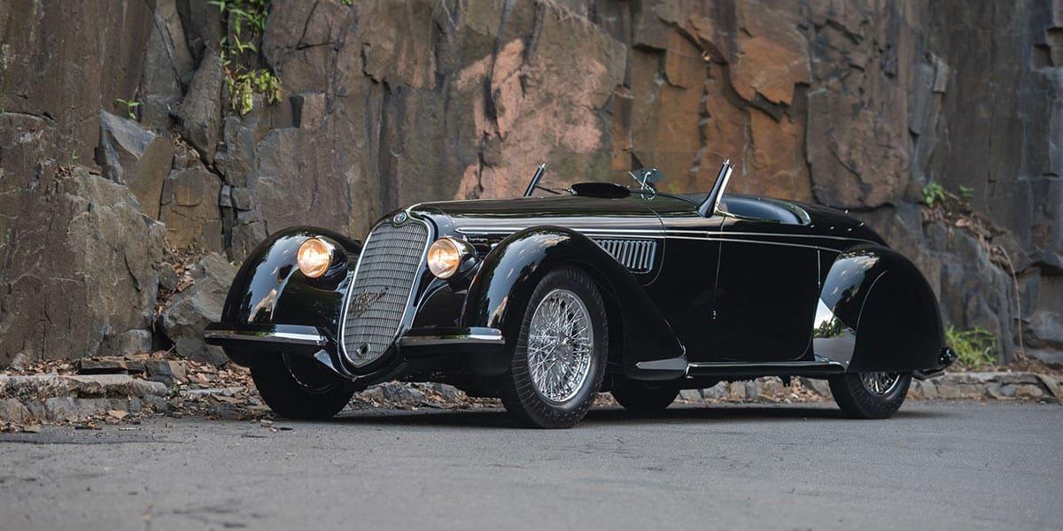 1939 Alfa Romeo 8C 2900B Lungo Spider(RM Sothebsy)