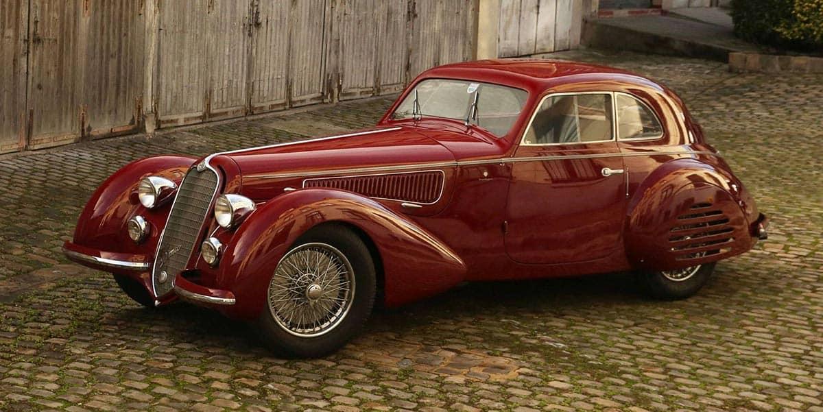 1939 Alfa Romeo 8C 2900B Touring Berlinetta(Artcurial)