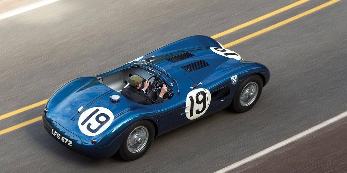 1953 Jaguar C-Type Works Lightweight(RM Sothebsy), car at auction