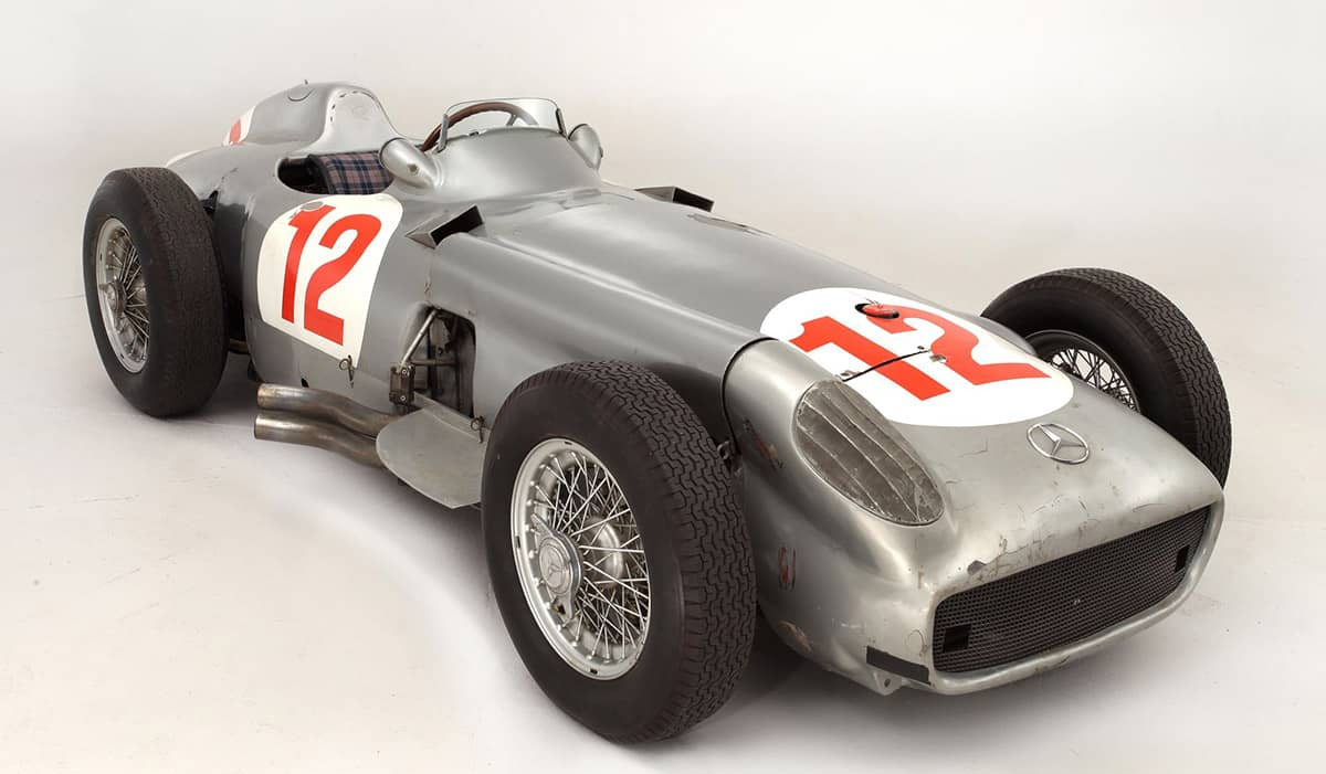 1954 mercedes-benz w196(Bonhams)