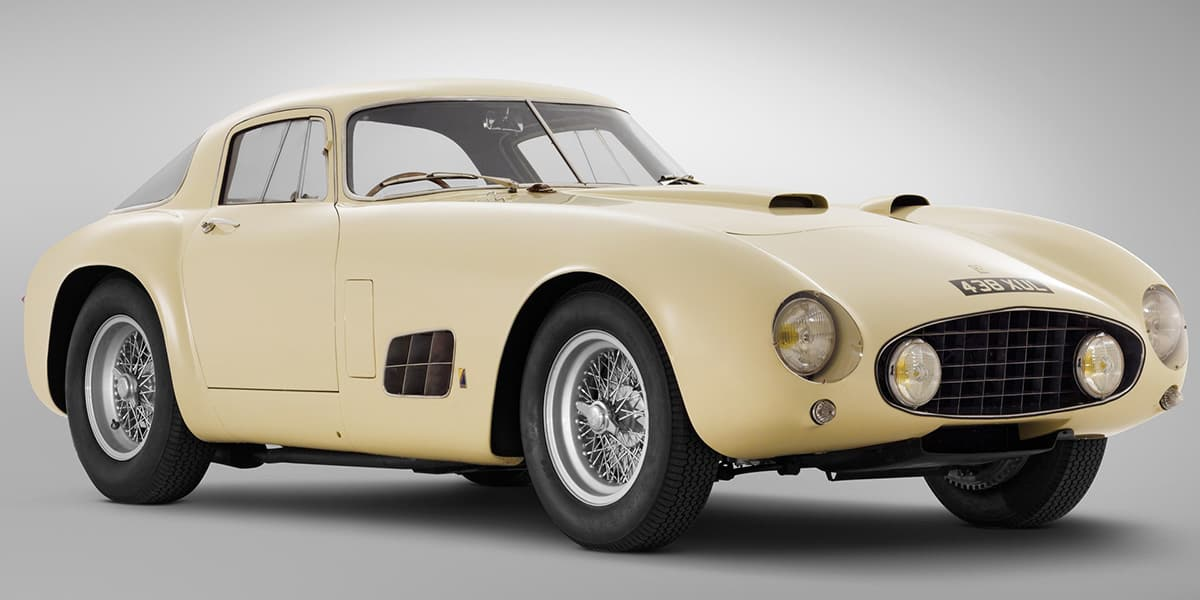 1955 Ferrari 410S(RM Sothebys), car at auction