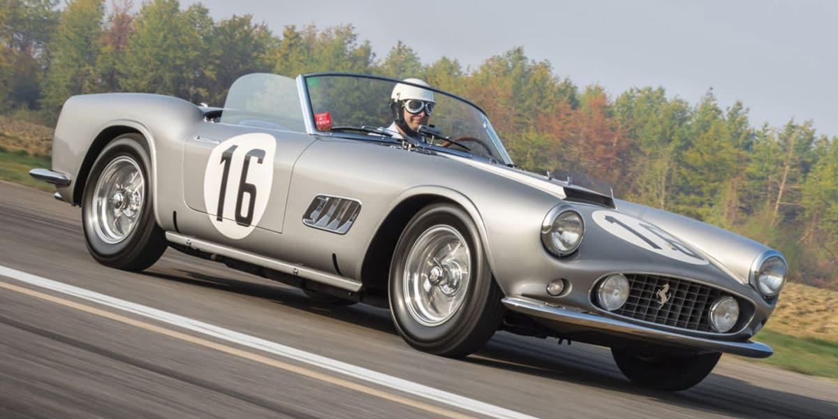 1959 Ferrari 250 GT LWB California Spider Competizione(Diana Varga courtesy of RM Sotheby's)