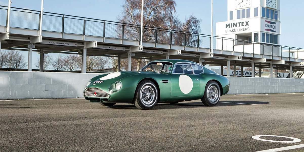 1961 Aston Martin DB4 GT Zagato MP209(Bonhams), car at auction