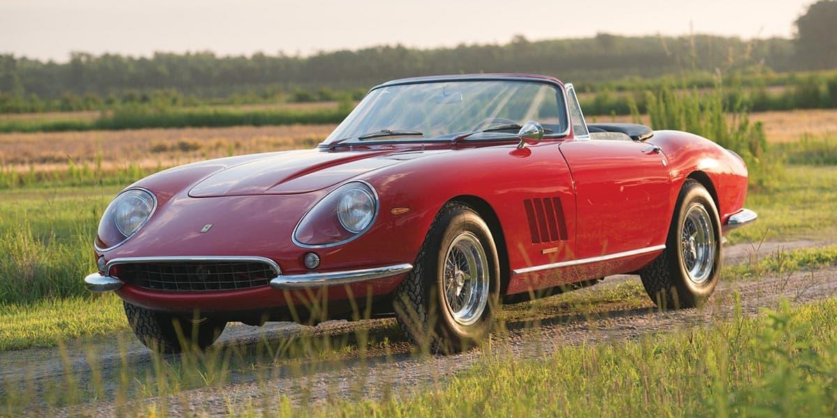 1967 Ferrari 275 gtb-4 s nart spider (RM Sothebys)