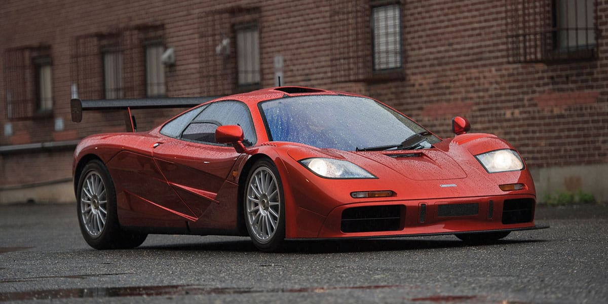 1998 McLaren F1 'LM-Specification'(RM Sothebsy), car at auction