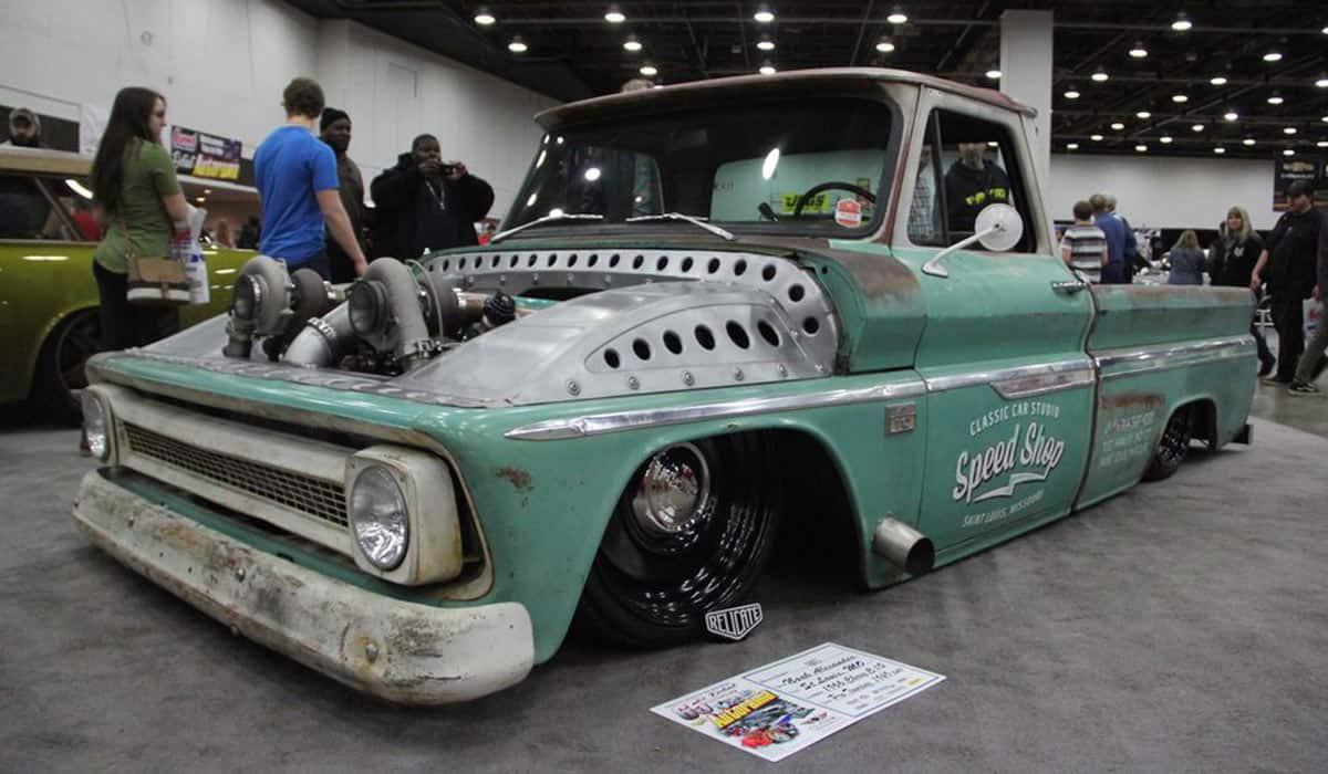 """1966 Chevrolet C10 """"Tiffany""""(Greg Fink)"""