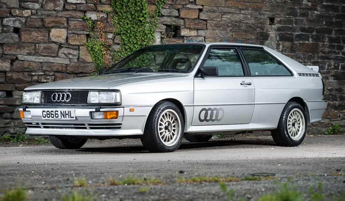 Audi Quattro(Auto Express)
