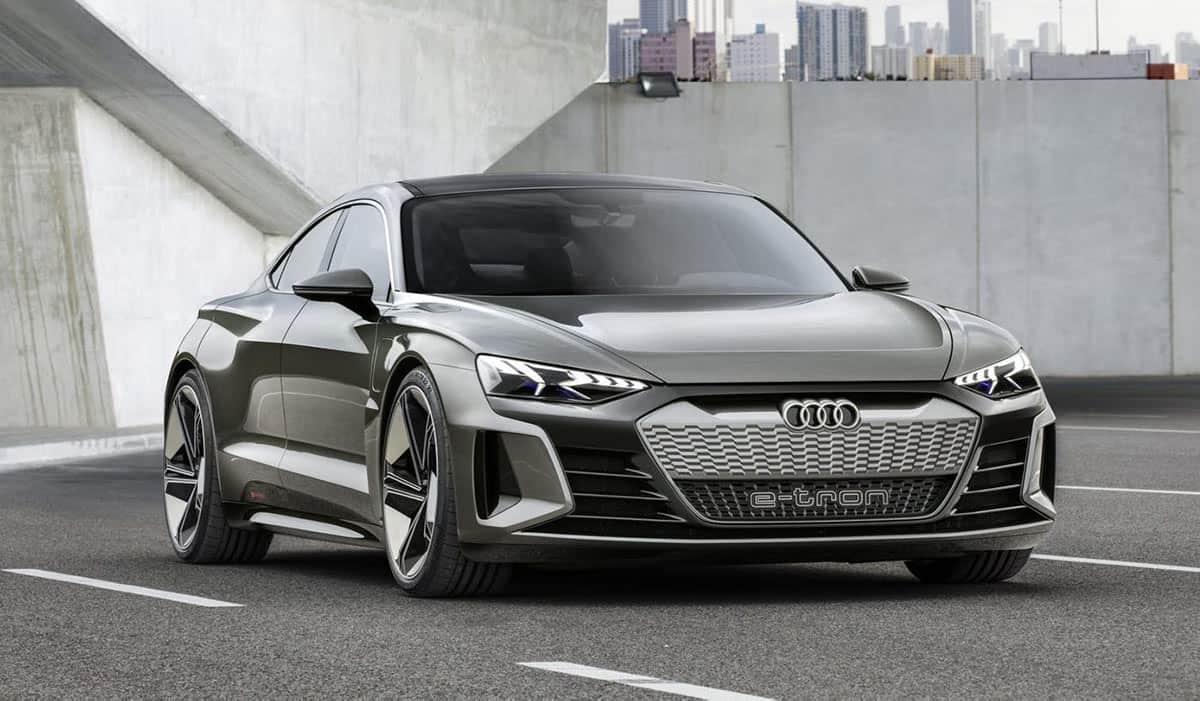Audi e-Tron GT(James Gilboy)