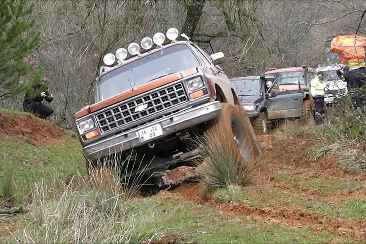 Chevrolet Blazer K5(OFF-ROAD TÜRKİYE)