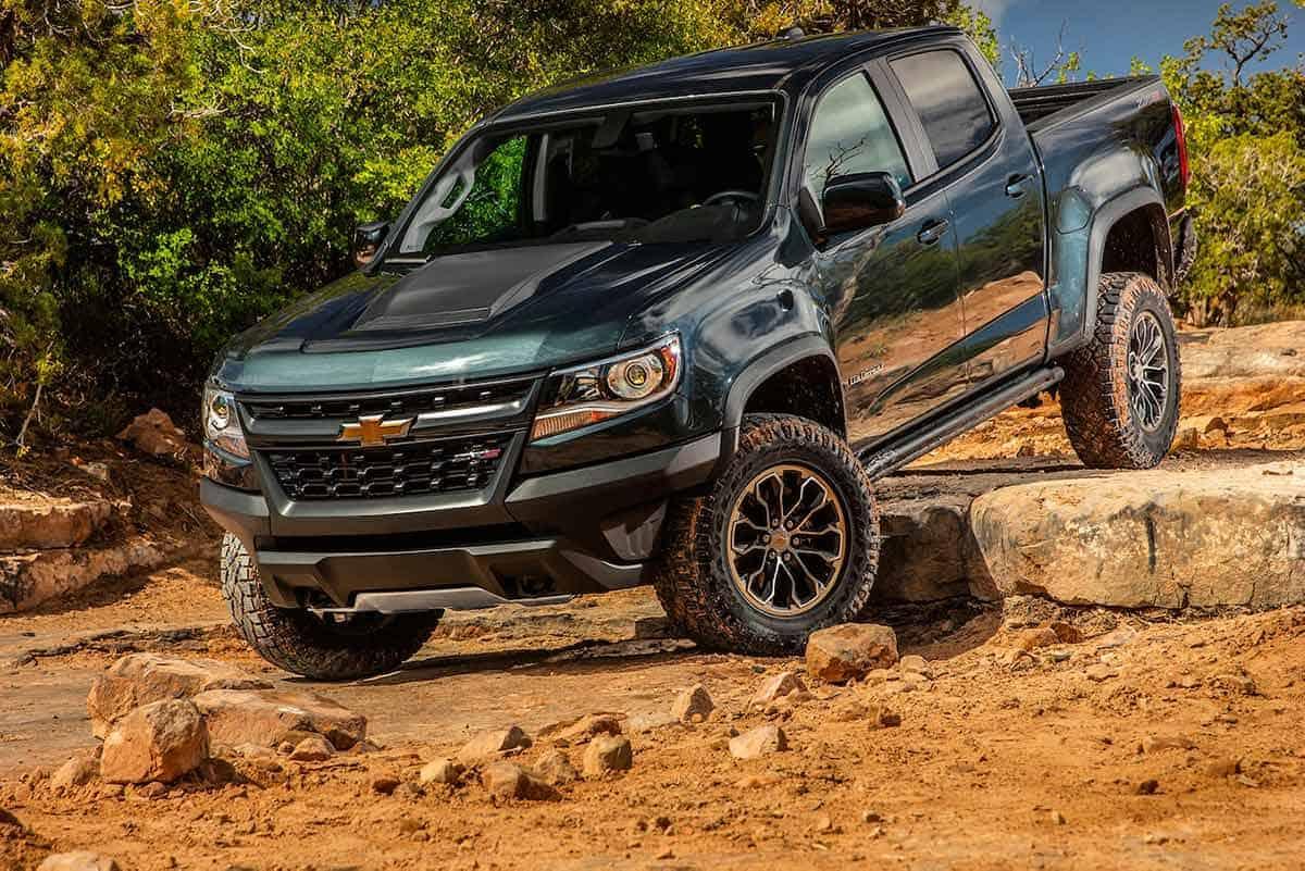 Chevrolet Colorado ZR2(Motor Trend)