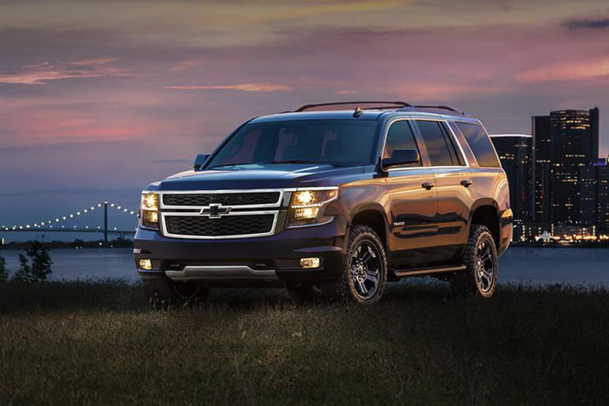 Chevrolet Tahoe with Z71 Off-Road package(Chevrolet)