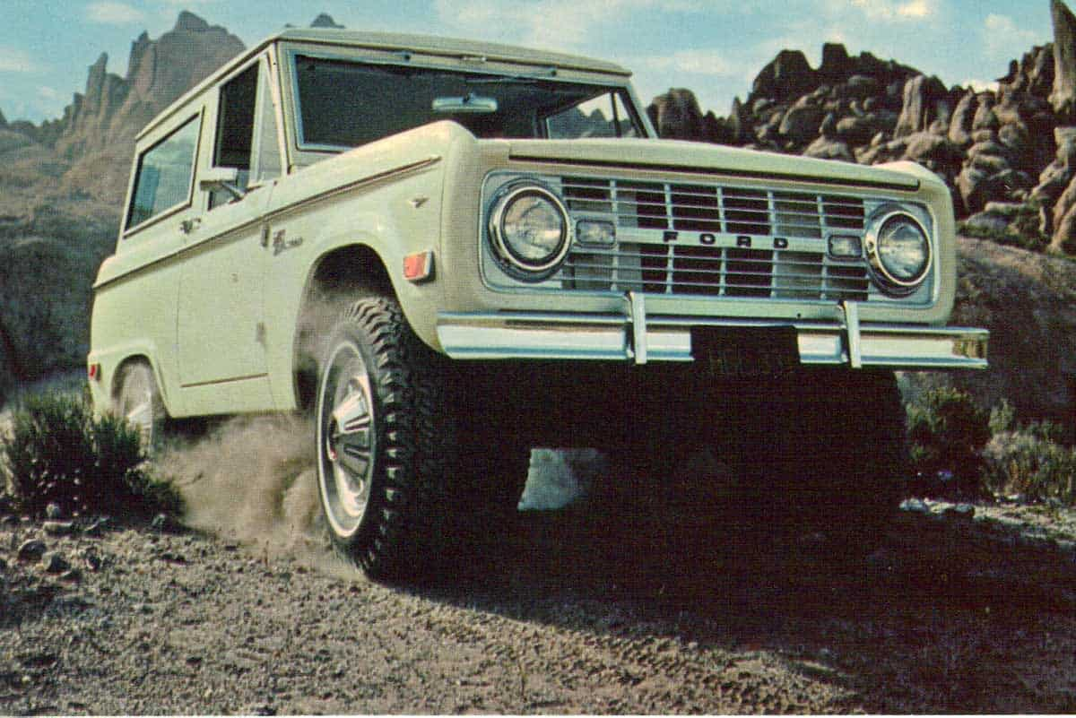 Ford Bronco First Generation(Silodrome)