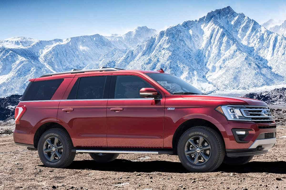 Ford Expedition with FX4 Off-Road package(New Atlas)