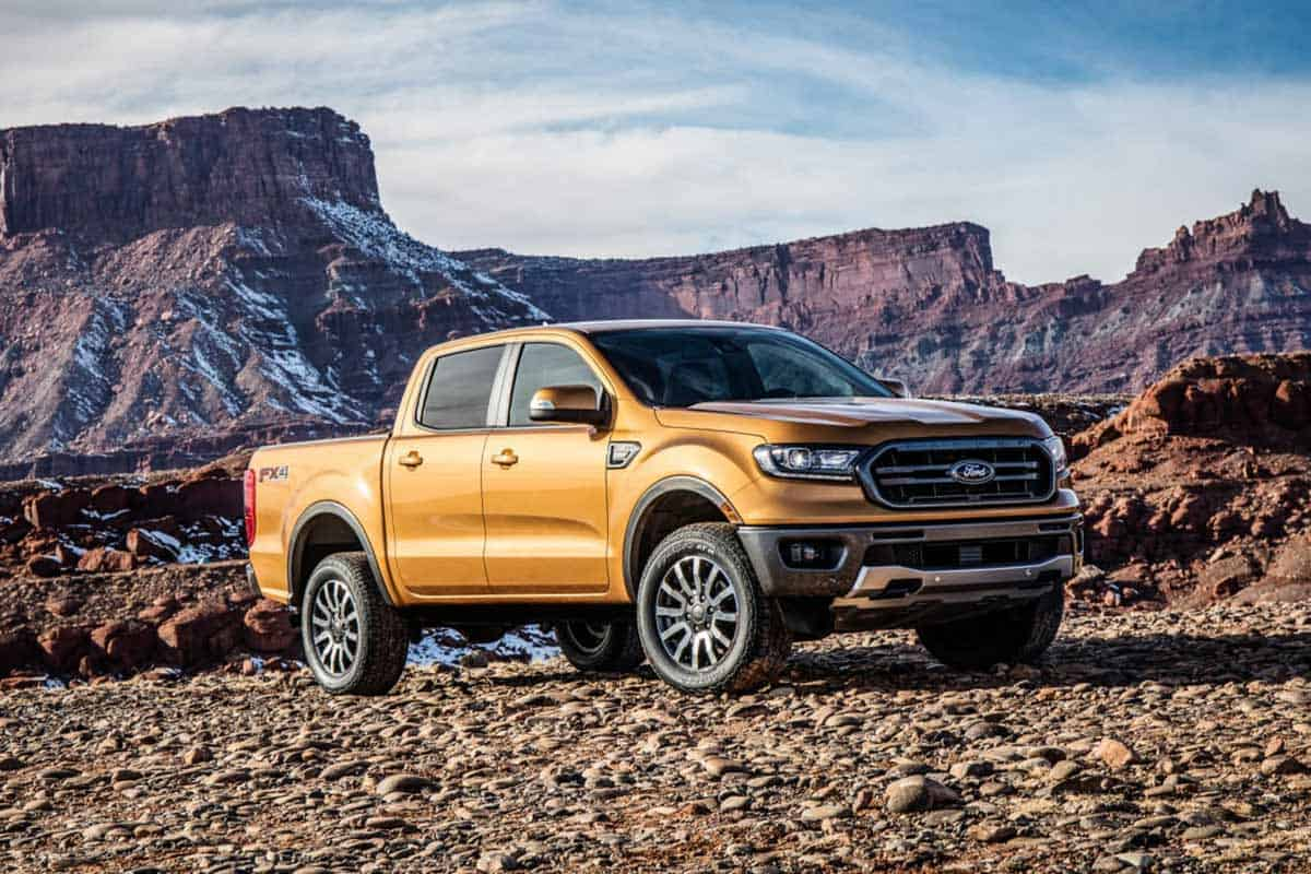 Ford Ranger with FX4 Off-Road package(Ford)