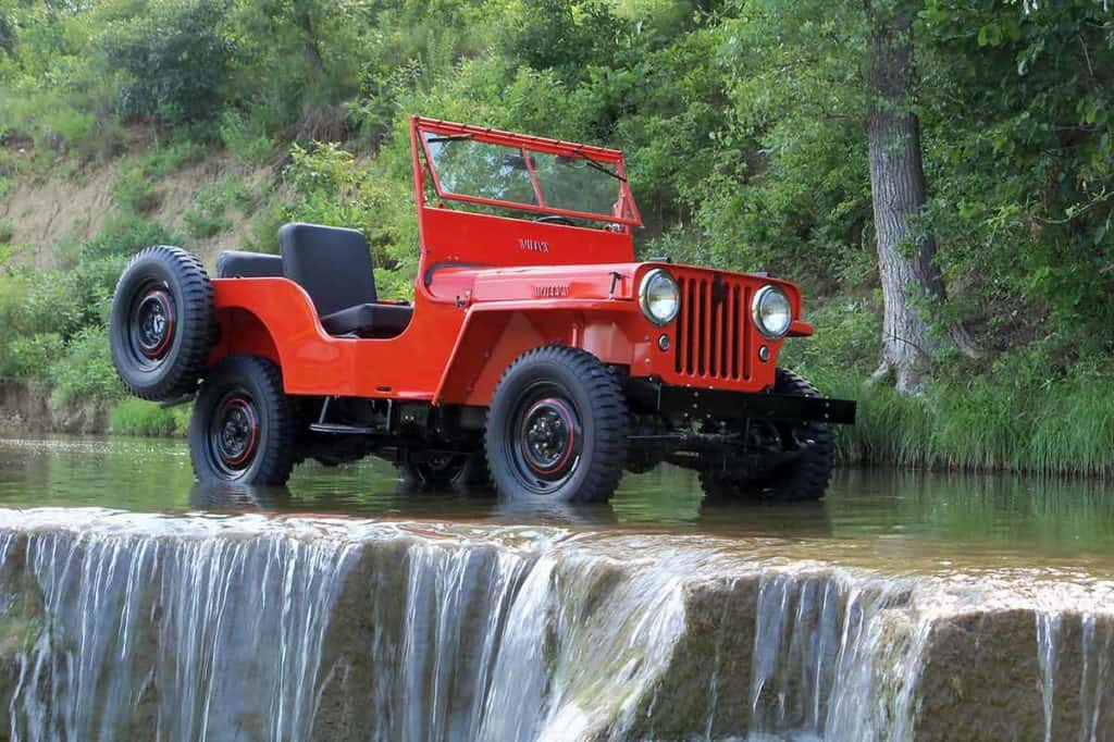 Jeep CJ-2A(Kaiser Willys)