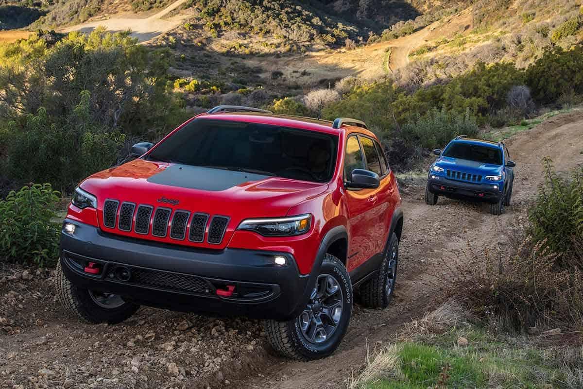 Jeep Cherokee Trailhawk(Motor Trend)