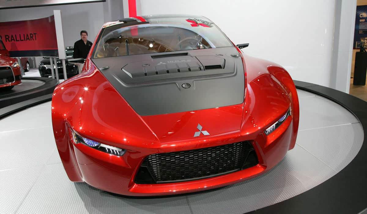 Mitsubishi Concept-RA(Road and Track)
