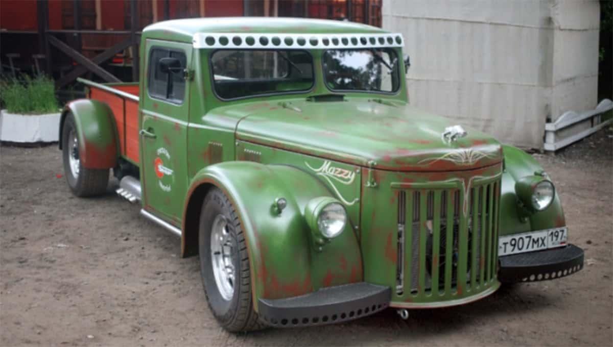 Soviet Minsk Auto Zavod Truck