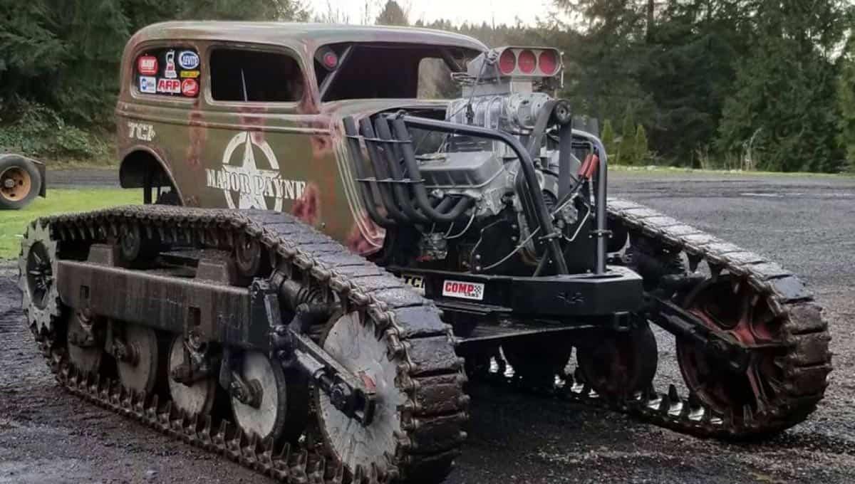 Tank Rod(Major Payne Monster Tank)