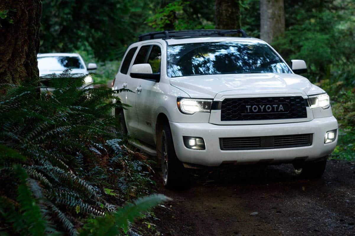 Toyota Sequoia TRD Pro(Torque Report)