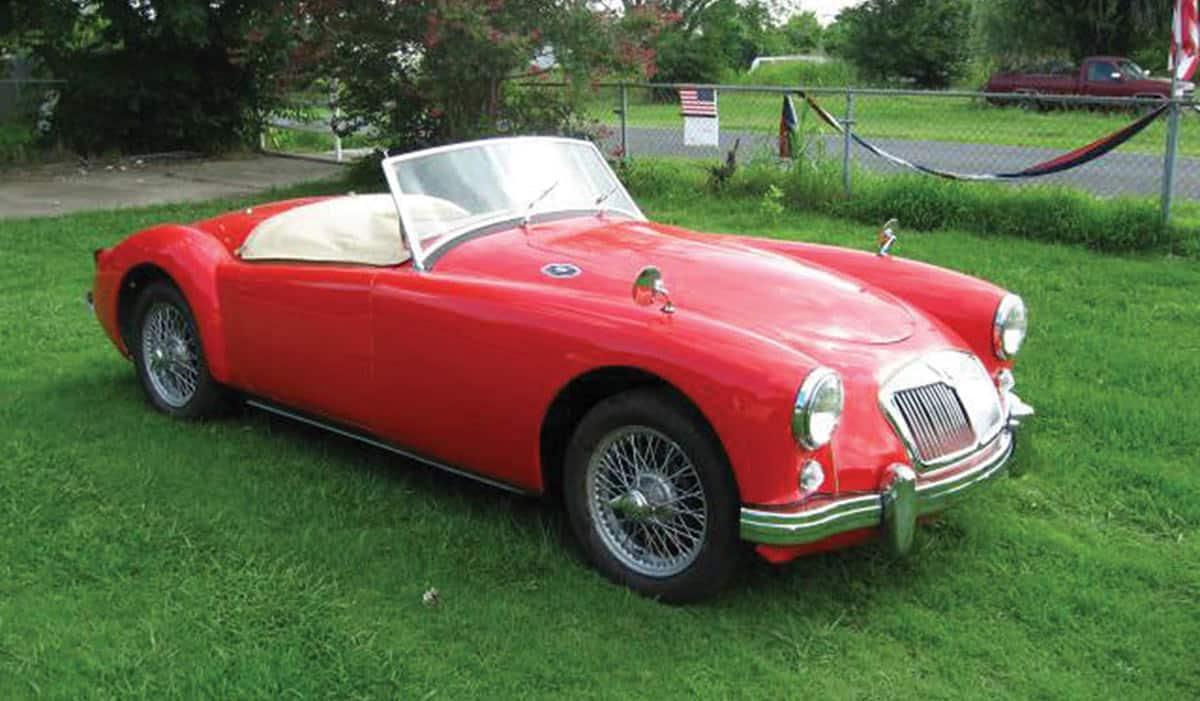 1955 MG MGA(RM Sothebys)