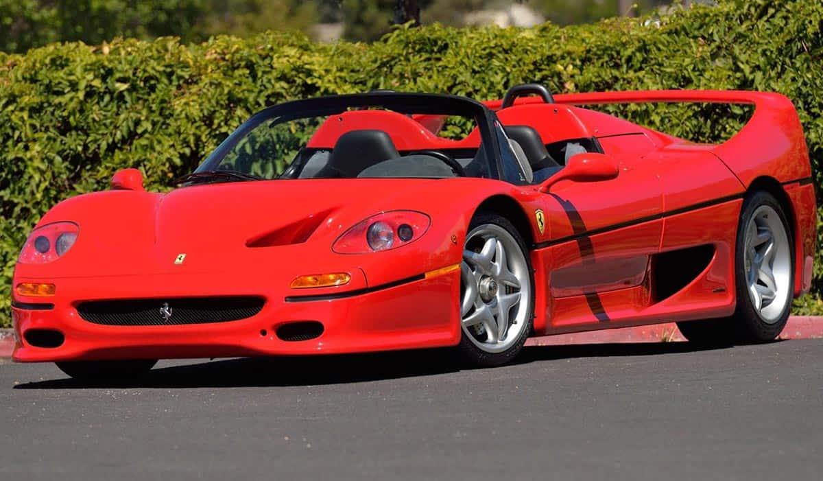 1995 Ferrari F50(duPont Registry)