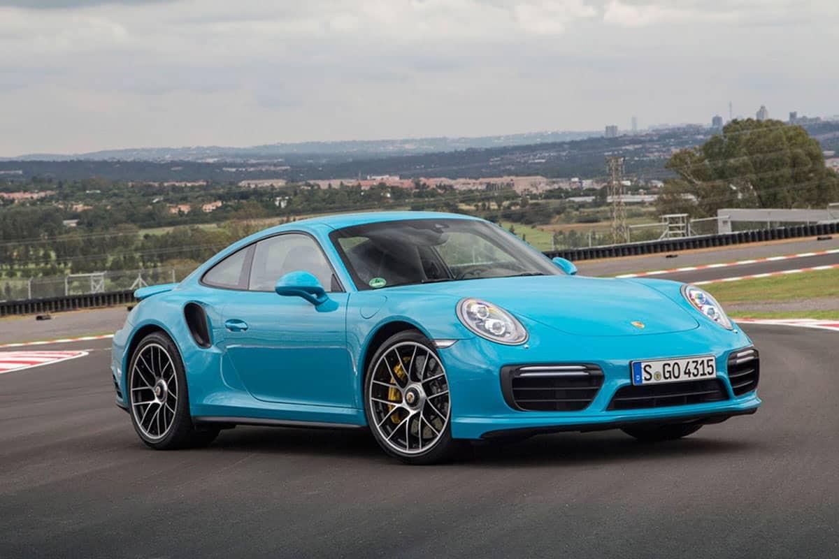 2016 Porsche 911 Turbo S (991)(CAR Magazine)