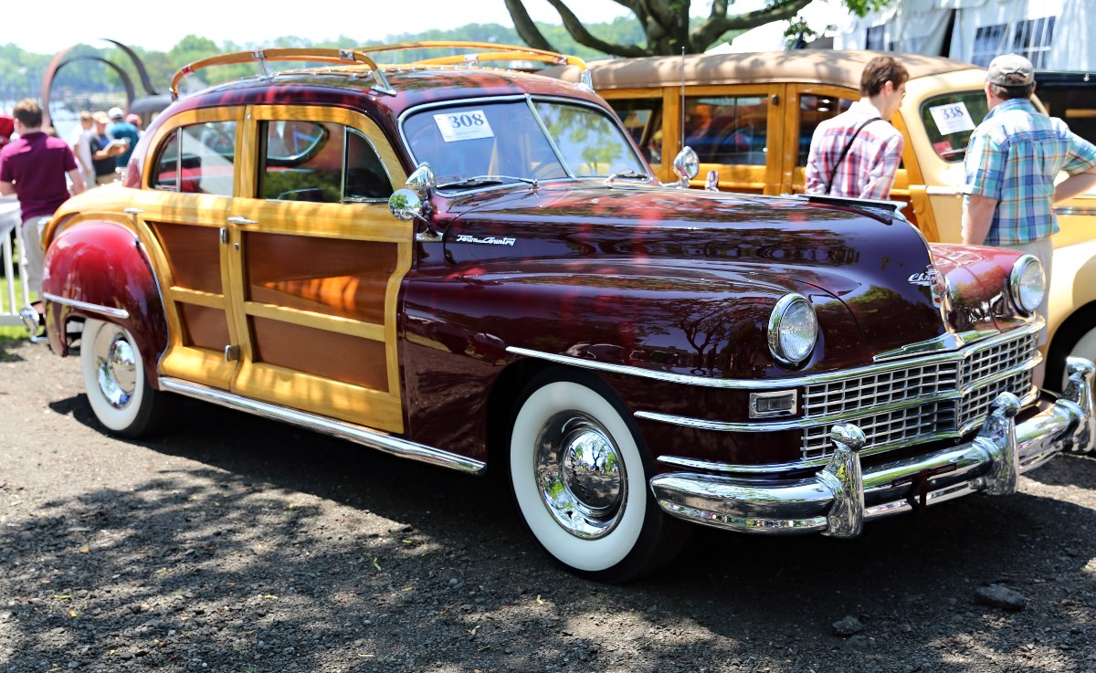 A 1948 Chrysler Town & Country