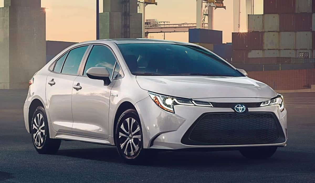 Toyota corolla Hybrid(Garber Fox Lake Toyota)