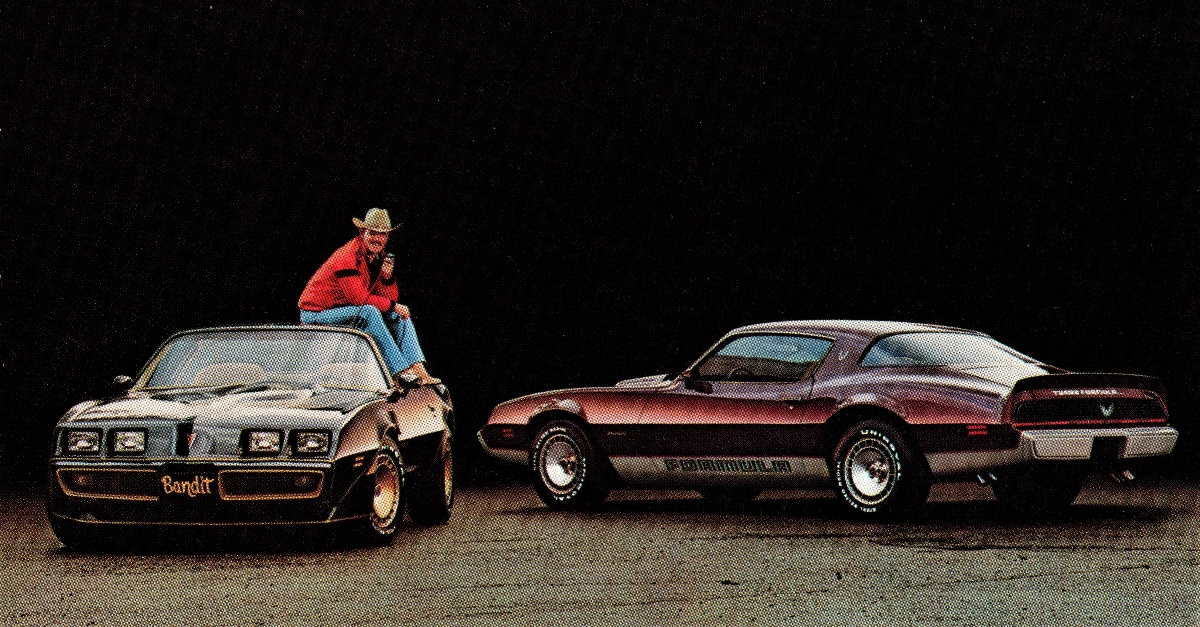Pontiac Trans Am advertisement with Burt Reynolds