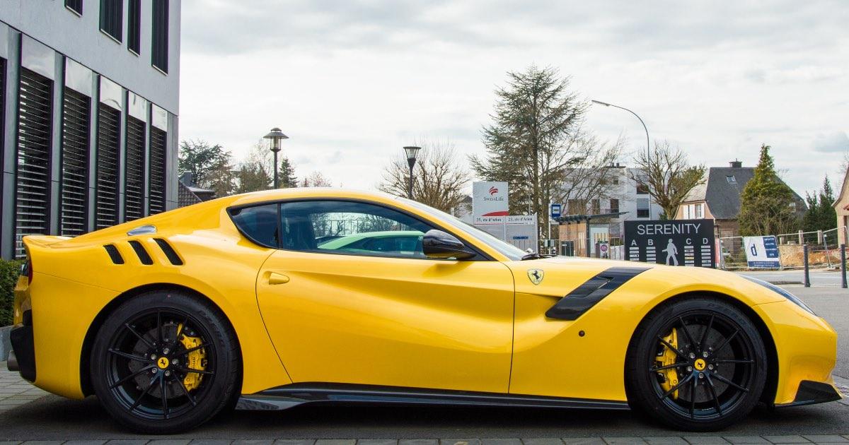 2016 Ferrari F12tdf, fastest production cars