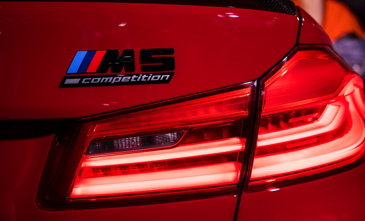 2018 BMW M5 Competition, fastest production cars